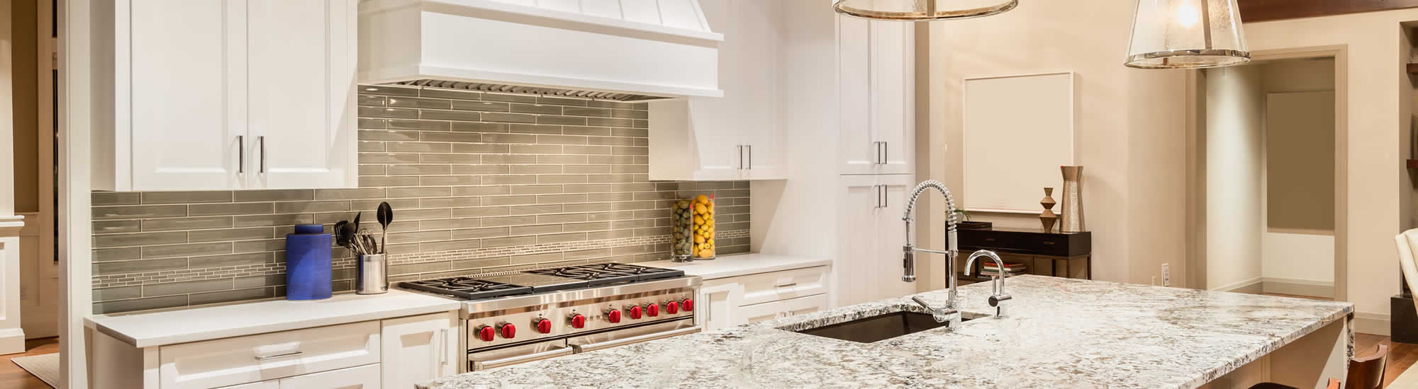DESIGN SERVICES · GALLERY · CONTACT. Marble Kitchen Countertops Troy MI    Banner ...