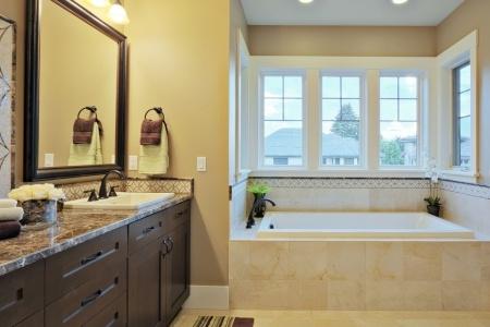 Quartz Bathroom Countertops and Installation