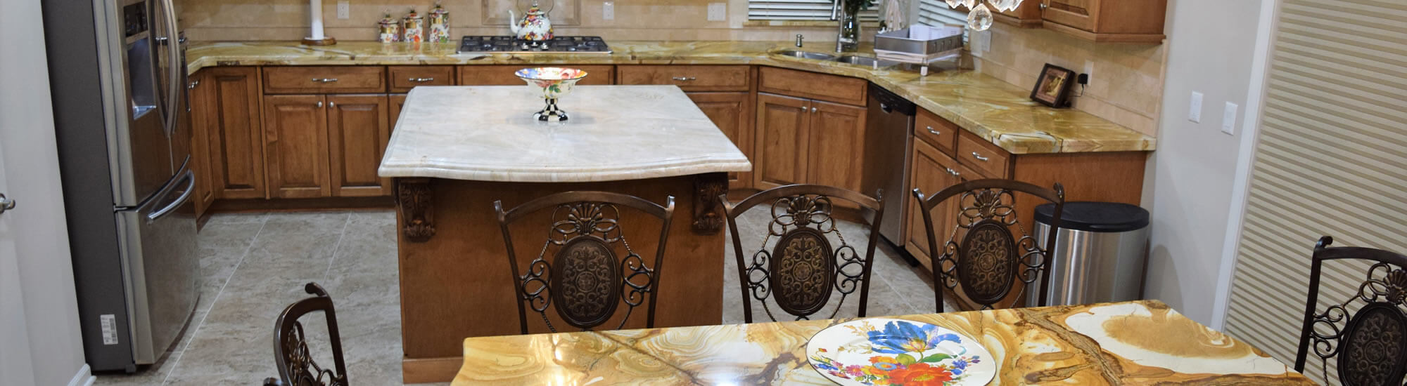 Marble Kitchen Countertops Troy MI - Banner 7